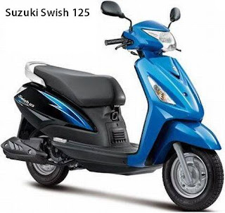 2012 Suzuki Swish 125