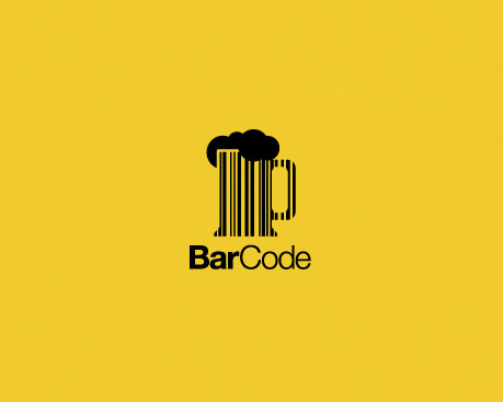 Barcode Cup of Tea Logo Inspiration