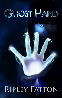 "Ghost Hand"" - Author : Ripley Patton, cover designer : Kura Carpenter - http://kuracarpenterdesign.blogspot.co.nz/"