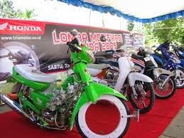 cara modifikasi motor honda grand
