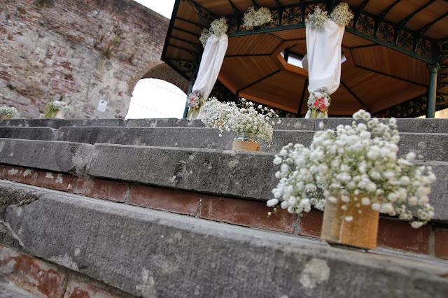 fiori matrimonio giardino