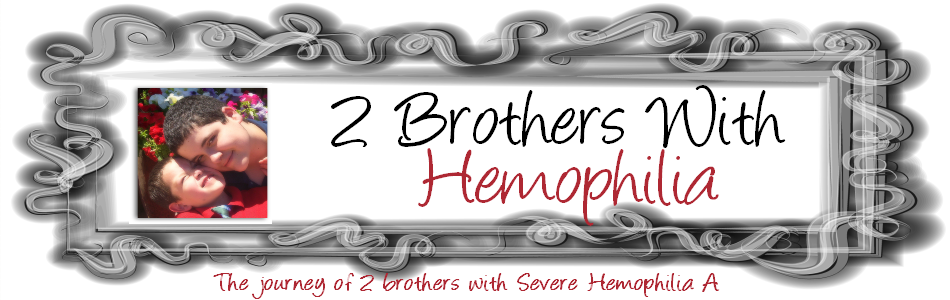 2 Brothers with Hemophilia