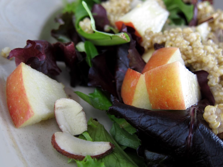 Books & Broccoli: Coconut Quinoa and Apple Salad