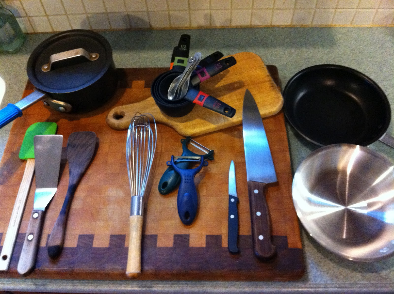 Taste Like Chicken - What's Mike Cooking?: Kitchen Equipment
