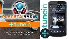 Audio en TuneIn radio