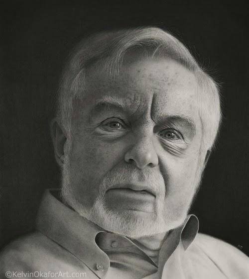 09-Sir-Derek-Jacobi-Kelvin-Okafor-Celebrity-Portrait-Drawings-Full-of-Emotions-www-designstack-co
