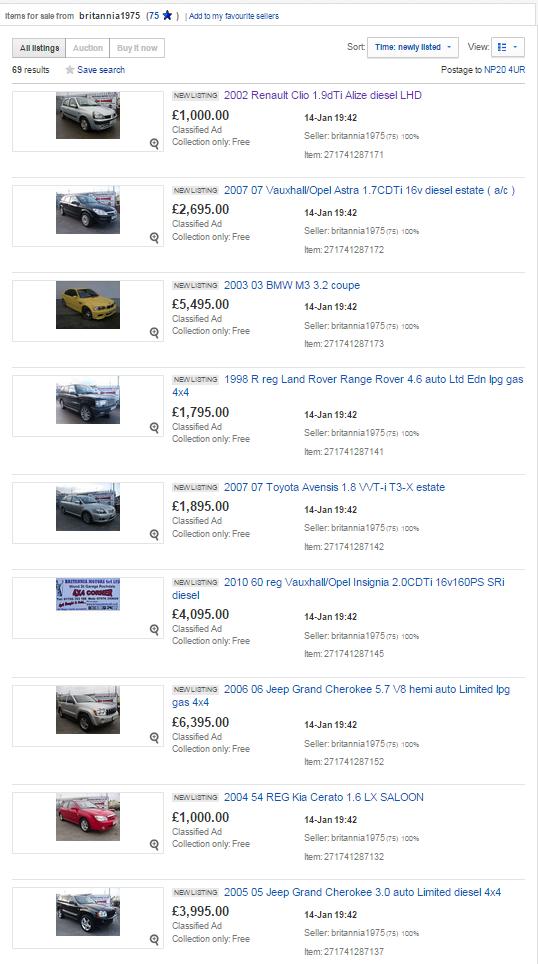 Magnificent Ebay Motors Classified Images - Classic Cars Ideas ...