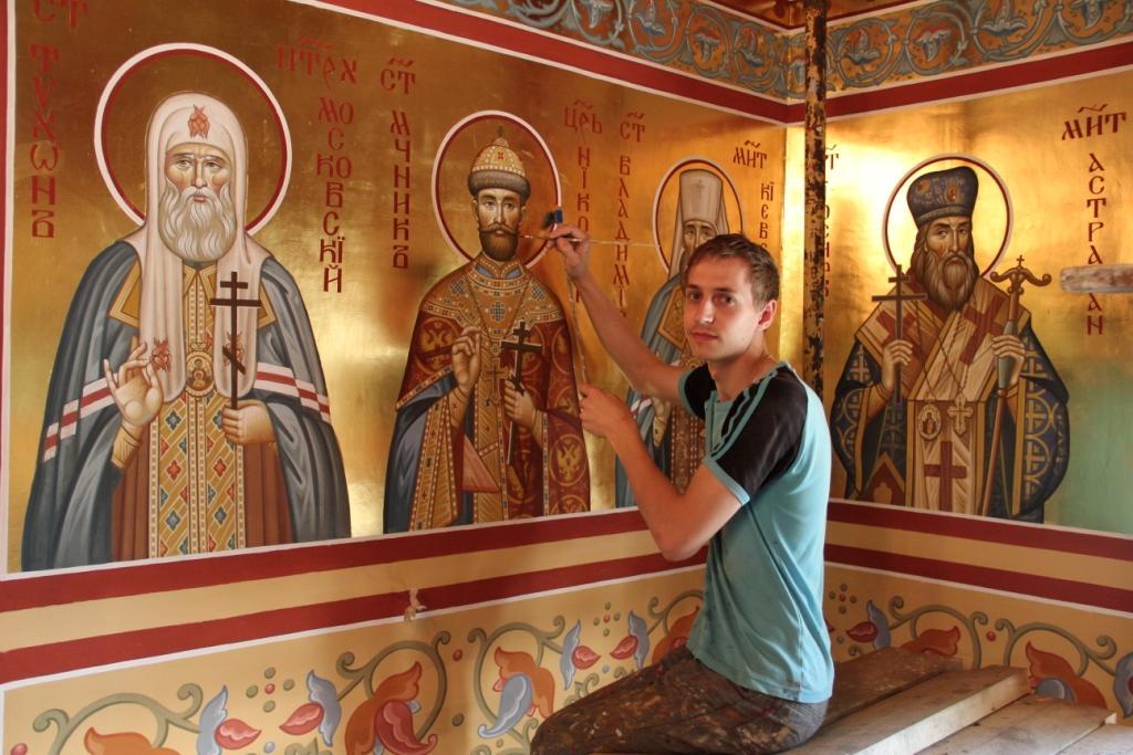 Роспись храма сюжет росписи храма