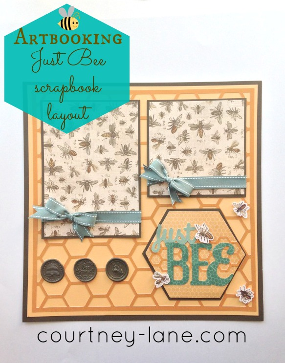 Cricut Artbooking Layout