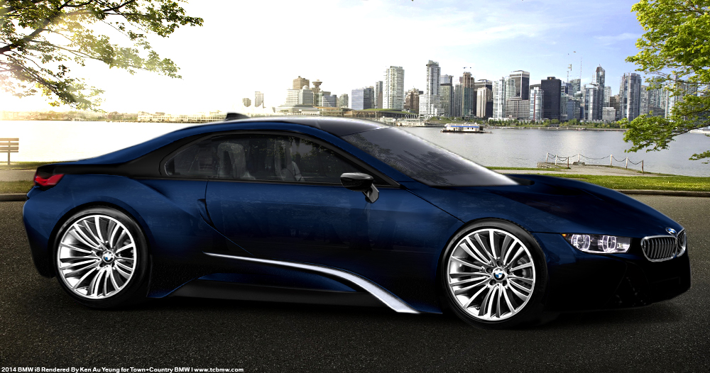 New BMW I8 Coupe Production Renders