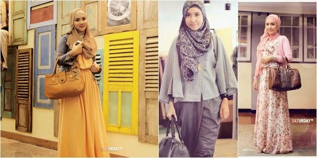 Baju kerja modern untuk wanita muda