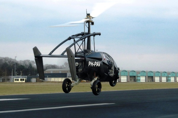 PAL-V Mobil Helikopter