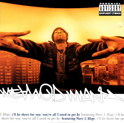 Method Man Feat. Mary J. Blige - Ill Be There For You/Youre All I Need To Get By-(CDM)-1995