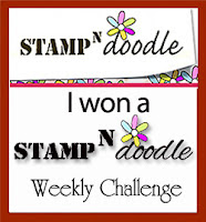 I am a Stamp &#39;n Doodle Winner!