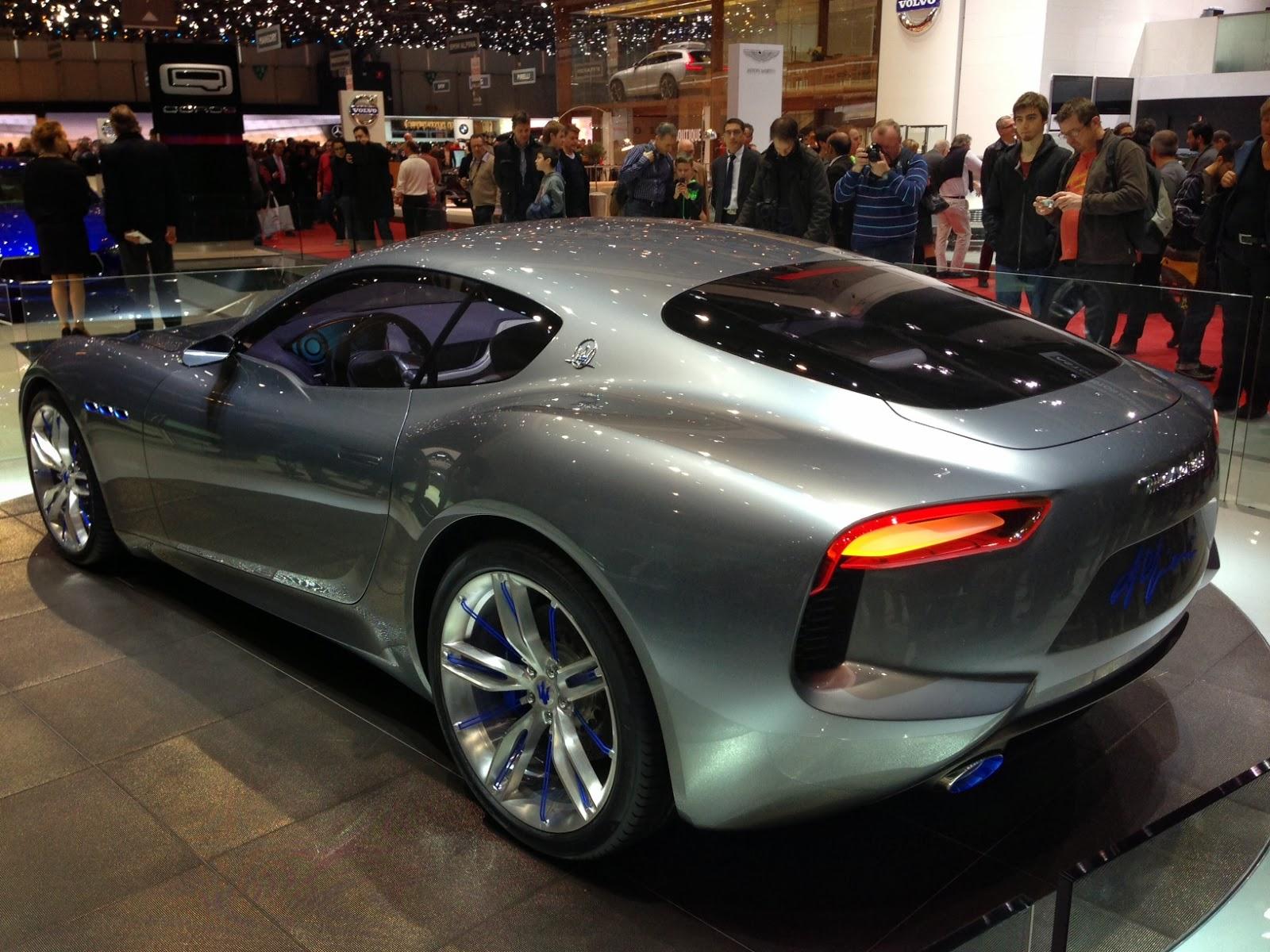 Maserati Alfieri Concept at Geneva Motor Show