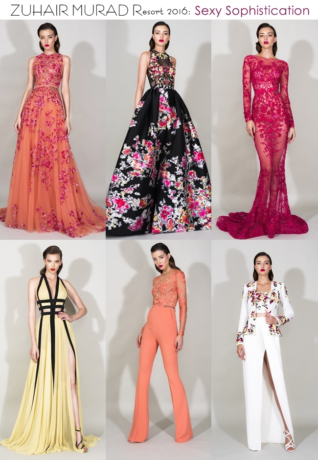 Zuhair Murad Resort 2016. Best Resort 2016 collections. Najbolje Resort 2016 kolekcije. Sexy and sophisticated looks.