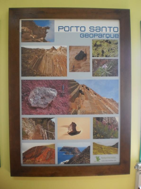 Quadro do Porto Santo Geopark