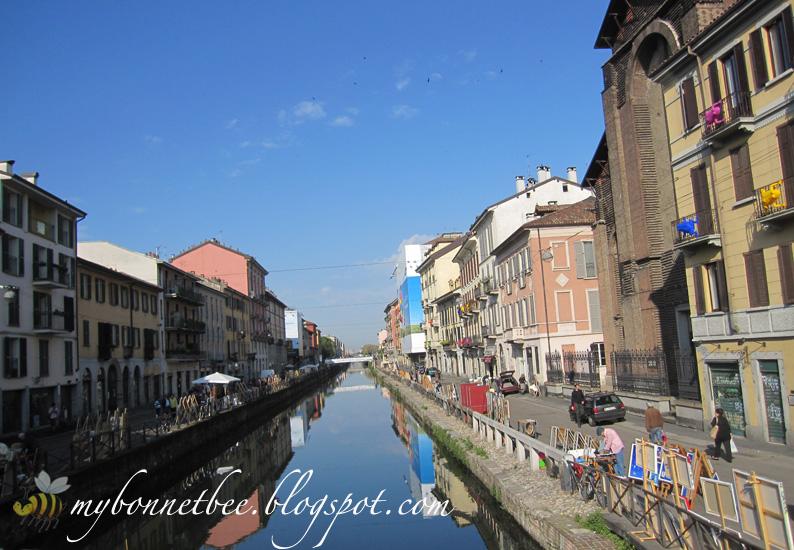 Mybonnetbee passeggiata a milano strolling around milan - Navigli porta genova ...