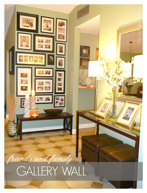 FOCAL POINT STYLING: MAKE MOM A MEMORY WALL - GALLERY WALL