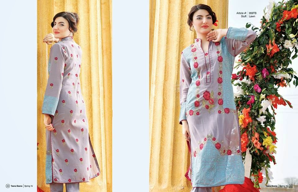 Pakistani women lawn collection