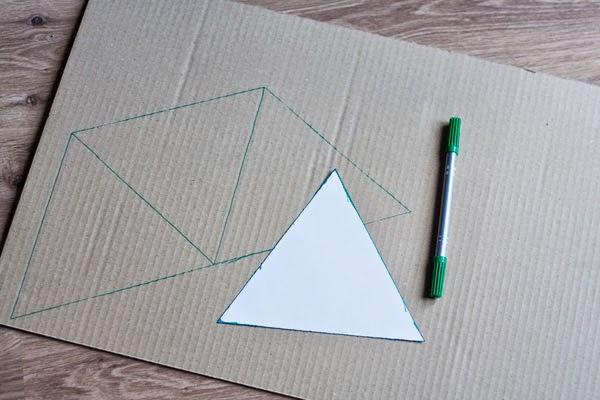 DIY con cartón: Cajas con formas geométricas