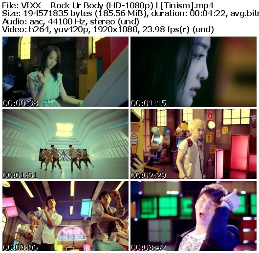 Download MV VIXX (빅스) - Rock Ur Body (뮤직비디오) (Full HD 1080p)