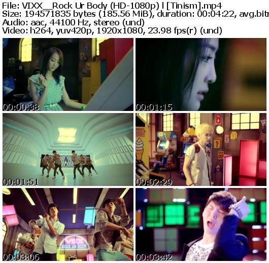 Download MV VIXX (빅스) - Rock Ur Body (뮤직비디오) (Full HD 1080p)