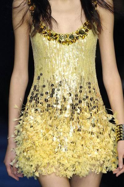Perfect Yellow Mini Dress