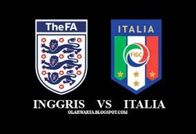 Hasil Piala Dunia Inggris vs Italia 1-2