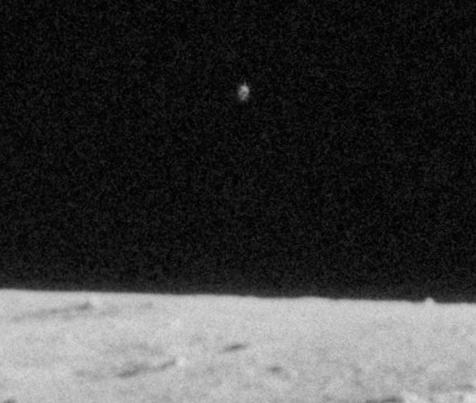 Huge Alien Ship Close To Apollo 12 Moon Walk, UFO Sightings