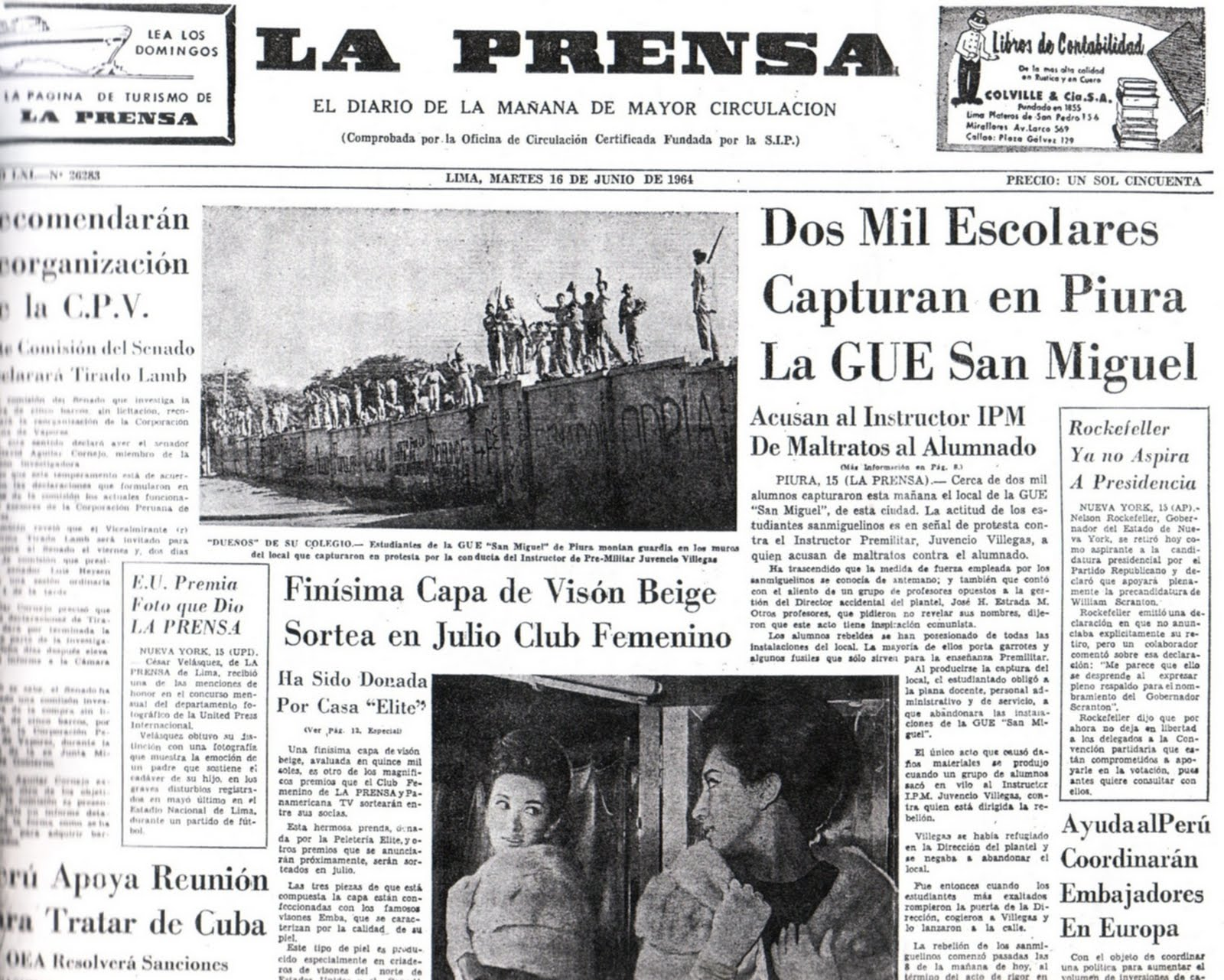 diario de la prensa: