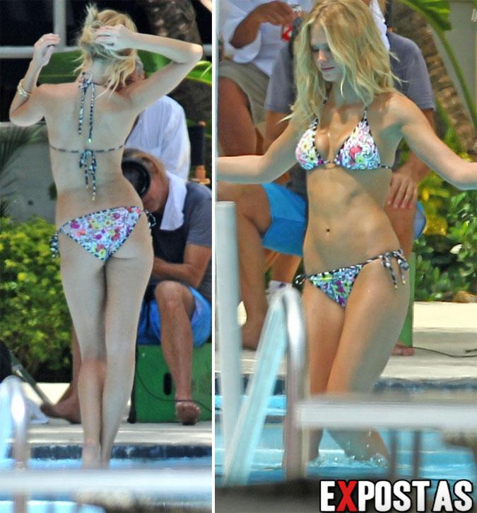 Erin Heatherton: Bikini photoshoot em Miami - 10 de Setembro de 2012