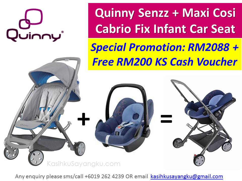 kasihku sayangku we love quinny senzz maxi cosi cabrio fix infant car seat special promotion. Black Bedroom Furniture Sets. Home Design Ideas