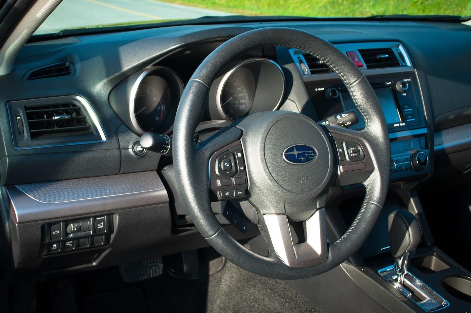 2015 Subaru Outback 2.5i Touring Interior