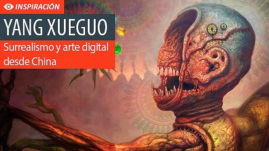 Surrealismo y excelente arte digital de YANG XUEGUO