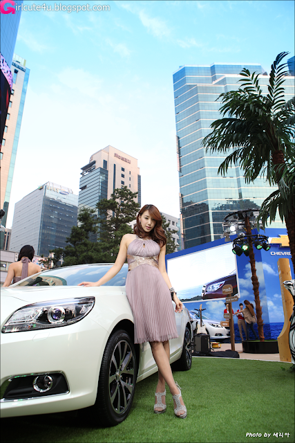 Lee-Sung-Hwa-Chevy-Malibu-Event-05-very cute asian girl-girlcute4u.blogspot.com