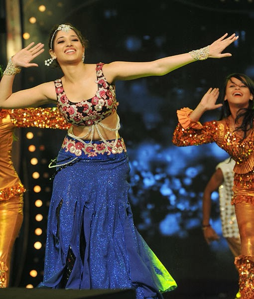 Tamannaah performing at the CineMaa awards