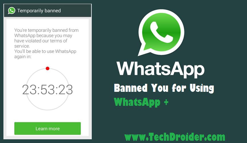 Whatsapp Permanent Ban