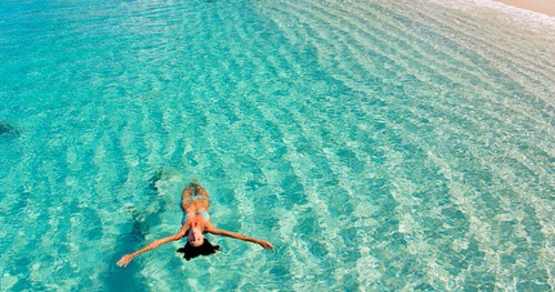 how to lose weight swimming routine