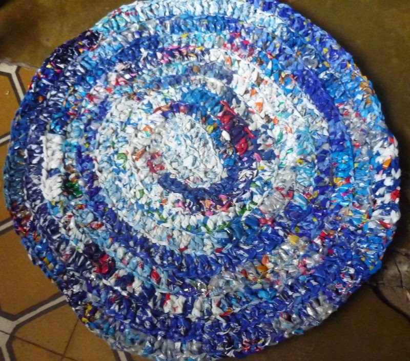 Te hago bolsa como hacer una alfombra - Alfombras de rafia ...
