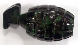 Grenade Shaped Tobacco Grinder (SFO)