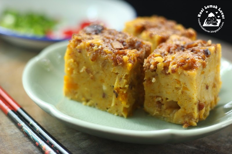 Steamed Carrot Cake Calories