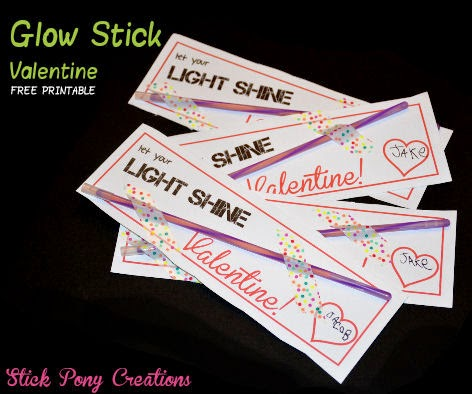 Stupendous image throughout glow stick valentines printable