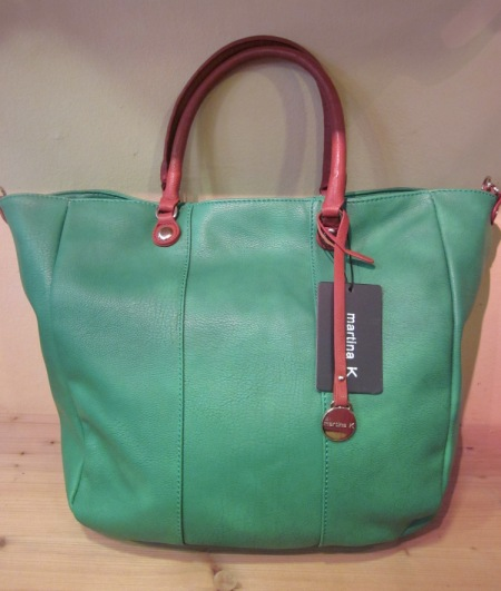 Bolso verde aguamarina