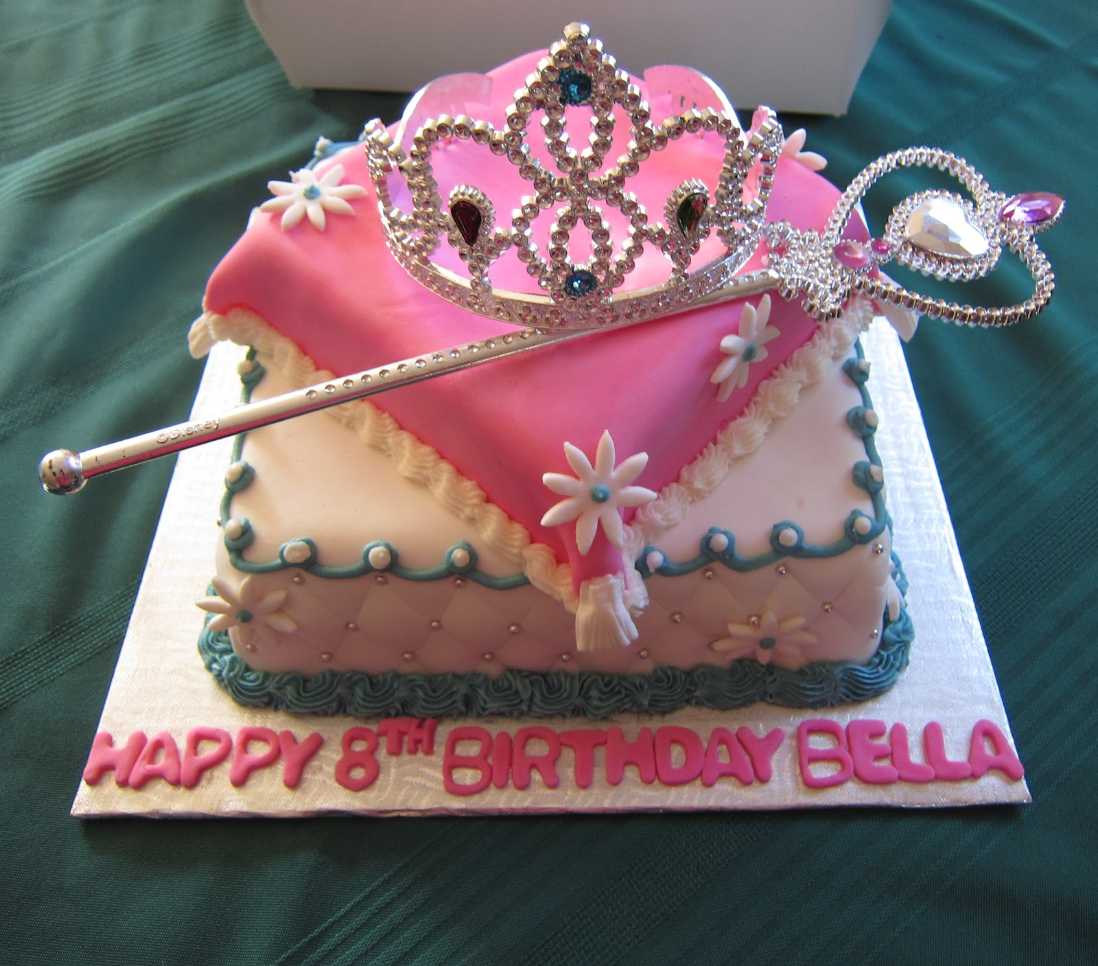10th birthday princess cakes custom