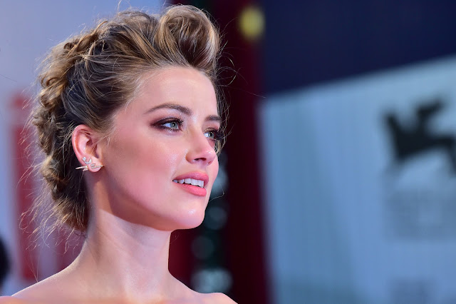 Amber Heard & Johnny Depp at 72nd Venice International Film Festival