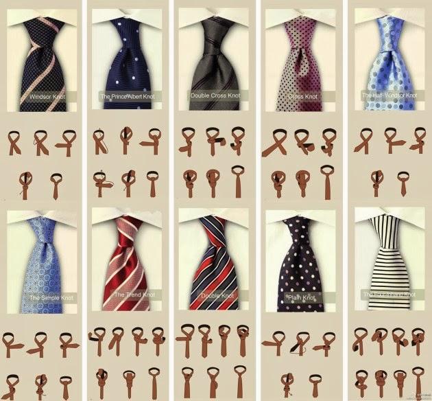 COMO HACER UN NUDO DE CORBATA PASO A PASO - Cómo hacer el nudo de corbata en un minuto