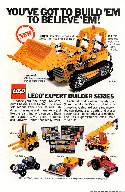 Lego Expert Builder Series