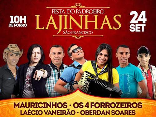 FESTA DO PADROEIRO DE LAJINHAS CAICÓ/RN