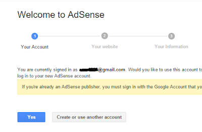 connect blogger with adsense